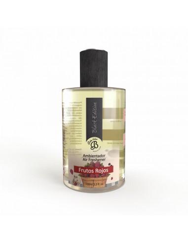 Ambientador en Spray Black Edition FRUTOS ROJOS 100 ml. PACK 6 UNIDADES