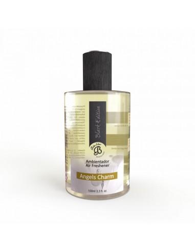 Ambientador en Spray Black Edition Angels Charm 100 ml. PACK 6 UNIDADES