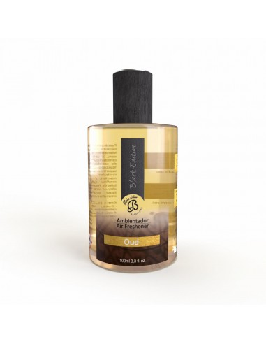 Ambientador en Spray Black Edition Oud 100 ml. PACK 6 UNIDADES